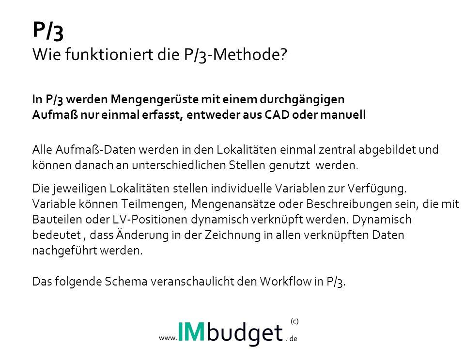 P/3 Wie funktioniert die P/3-Methode.