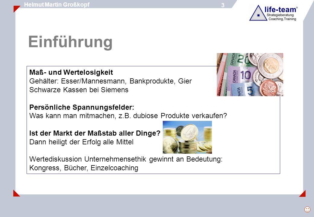 14 Helmut Martin Großkopf 14 Herr Martin Brezger Geschäftsführer von Mörk-Bau, Leonberg Herr Frank Steinbach Geschäftsführer von Spedition Steinbach, Bayreuth Erfahrungen aus der Praxis