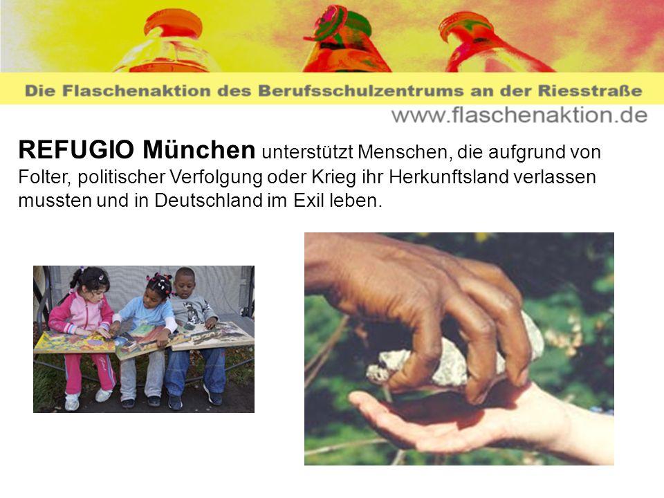 REFUGIO München unterstützt Menschen, die aufgrund von Folter, politischer Verfolgung oder Krieg ihr Herkunftsland verlassen mussten und in Deutschlan