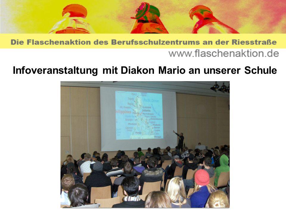 Infoveranstaltung mit Diakon Mario an unserer Schule