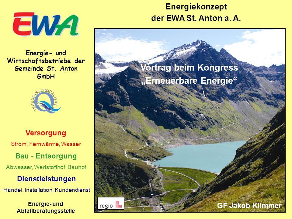 Inhalt Vorstellung EWA Energiekonzept St.