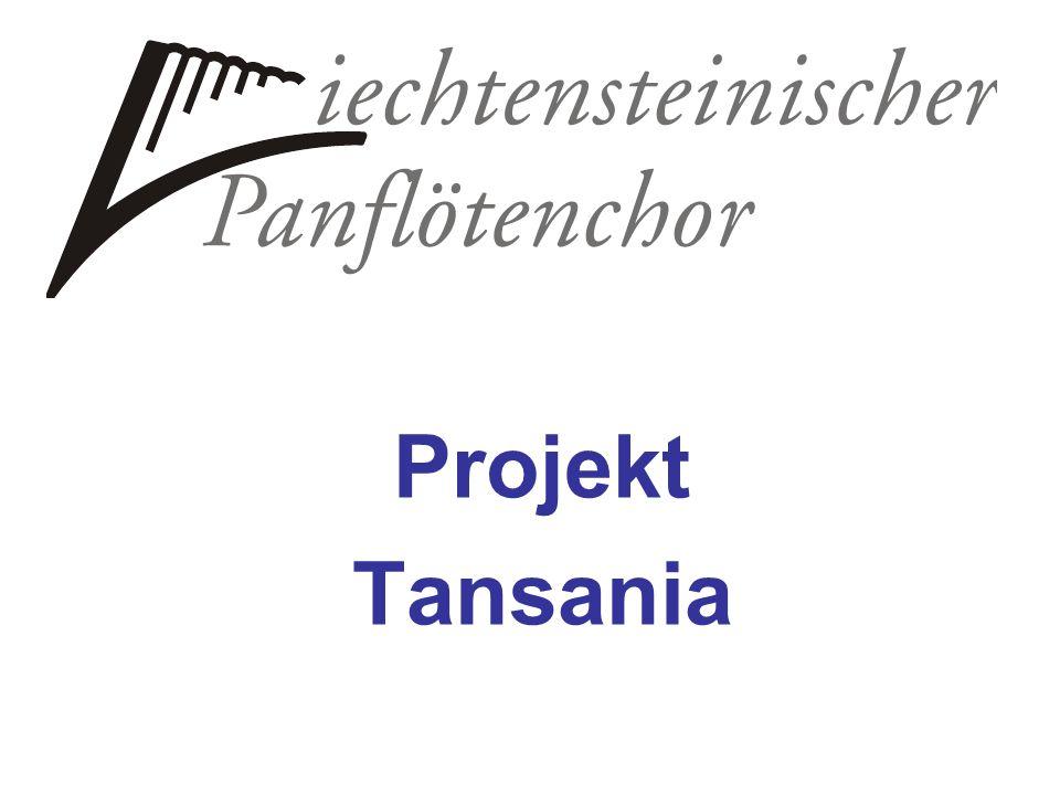 Spendenkonto: VP Bank 9490 Vaduz Kto. 333.412.240 Vermerk: Projekt Tansania