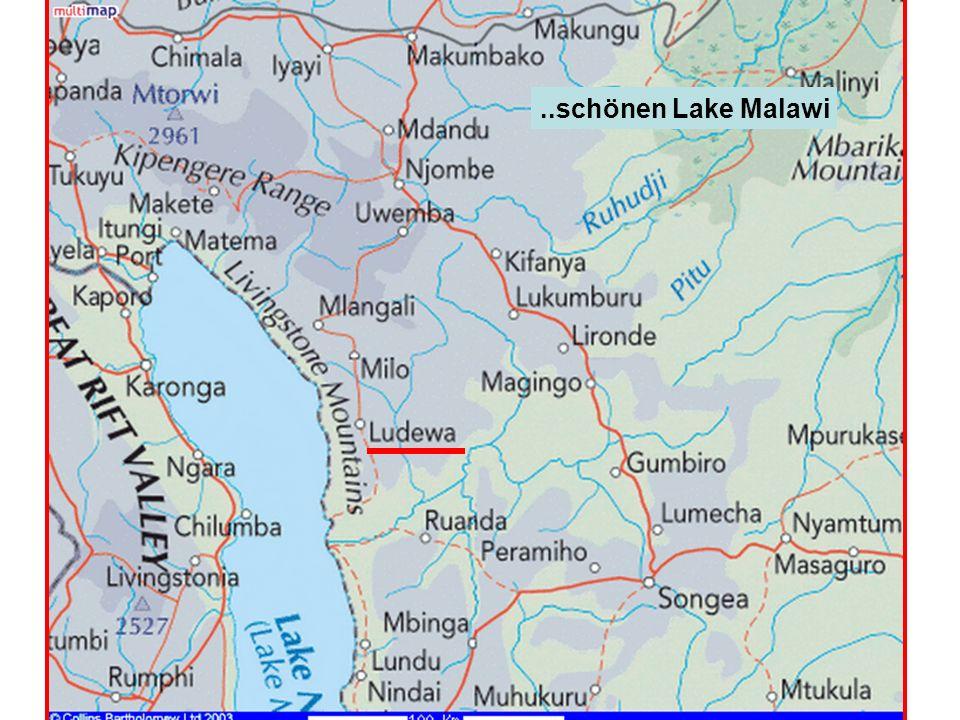..schönen Lake Malawi