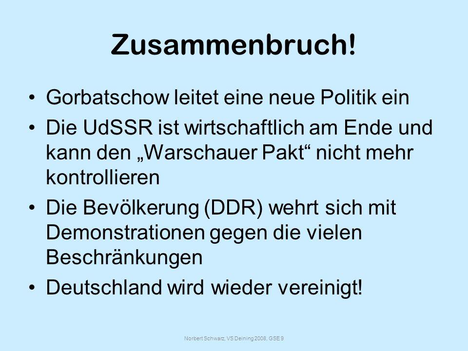 Norbert Schwarz, VS Deining 2008, GSE 9 Zusammenbruch.