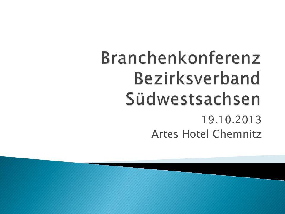 19.10.2013 Artes Hotel Chemnitz