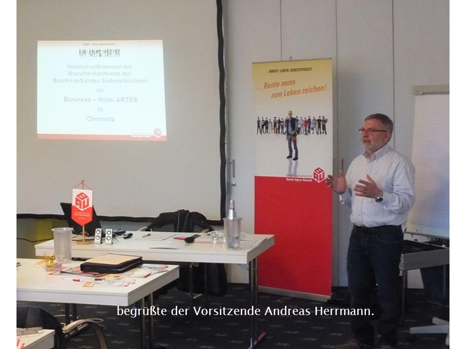 begrüßte der Vorsitzende Andreas Herrmann.