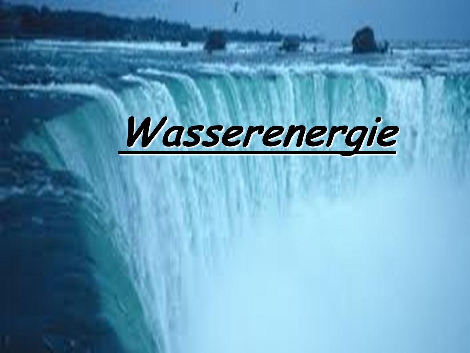 Wasserenergie