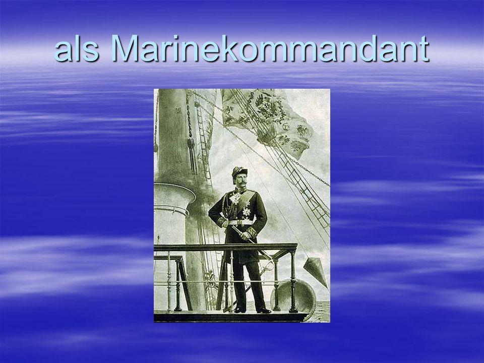 als Marinekommandant