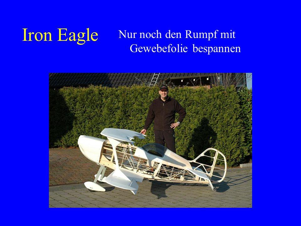 Schnell bei EMHW www.emhw.de bestelltwww.emhw.de Einige Monate im Keller Und schon ist sie rohbaufertig Maßstab 2:1, Spannweite 3.03 Meter