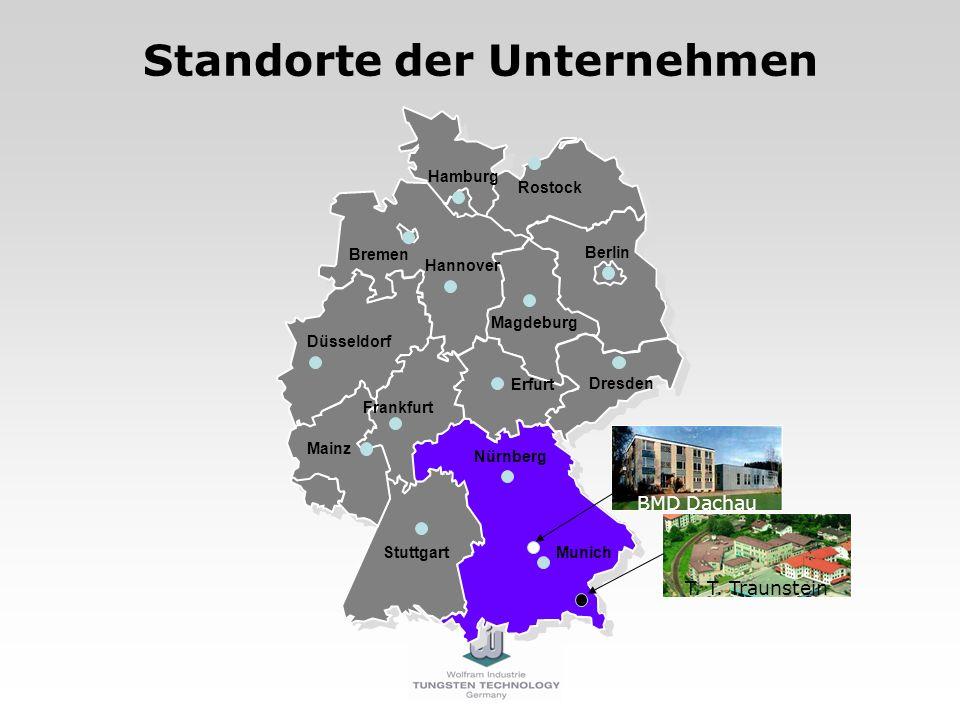 BMD Dachau Rostock Hamburg Hannover Magdeburg Berlin Bremen Munich Erfurt Dresden Stuttgart Nürnberg Düsseldorf Frankfurt Mainz Standorte der Unterneh
