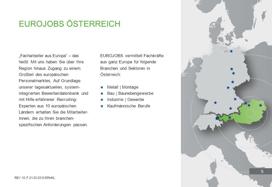 5 Facharbeiter aus Europa – das heißt: Mit uns haben Sie über Ihre Region hinaus Zugang zu einem Großteil des europäischen Personalmarktes. Auf Grundl