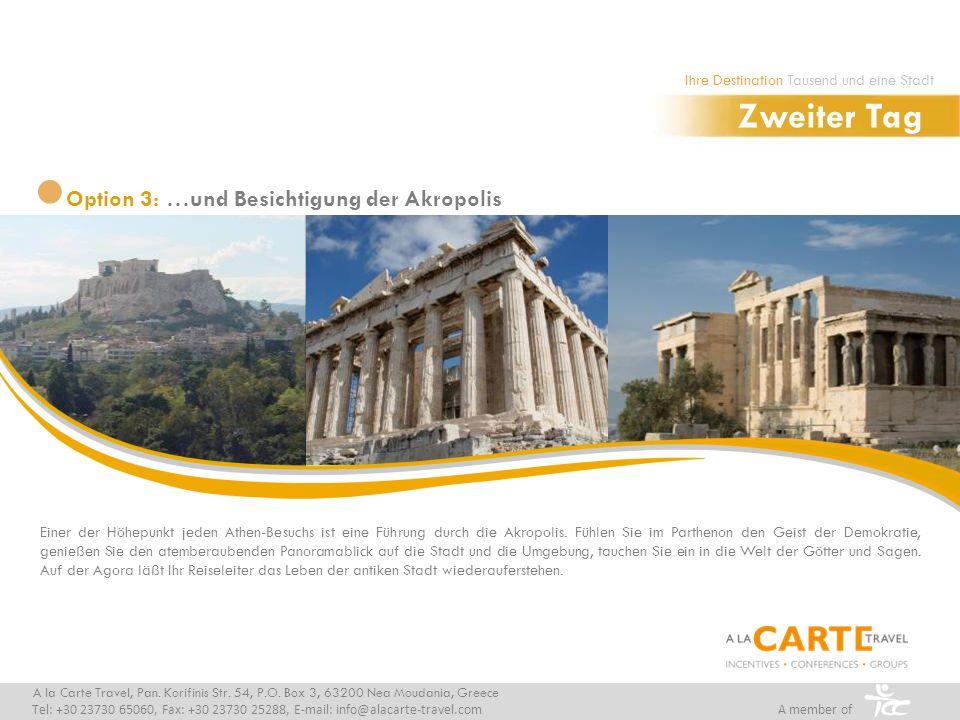Einer der Höhepunkt jeden Athen-Besuchs ist eine Führung durch die Akropolis. Fühlen Sie im Parthenon den Geist der Demokratie, genießen Sie den atemb