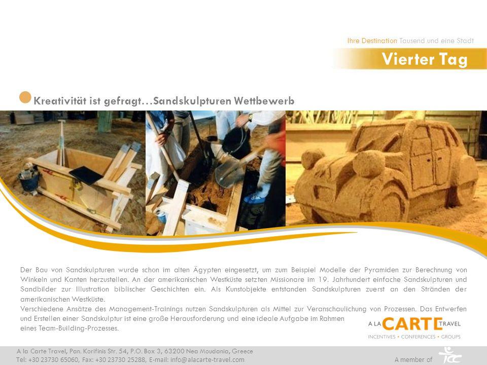 Der Bau von Sandskulpturen wurde schon im alten Ägypten eingesetzt, um zum Beispiel Modelle der Pyramiden zur Berechnung von Winkeln und Kanten herzustellen.