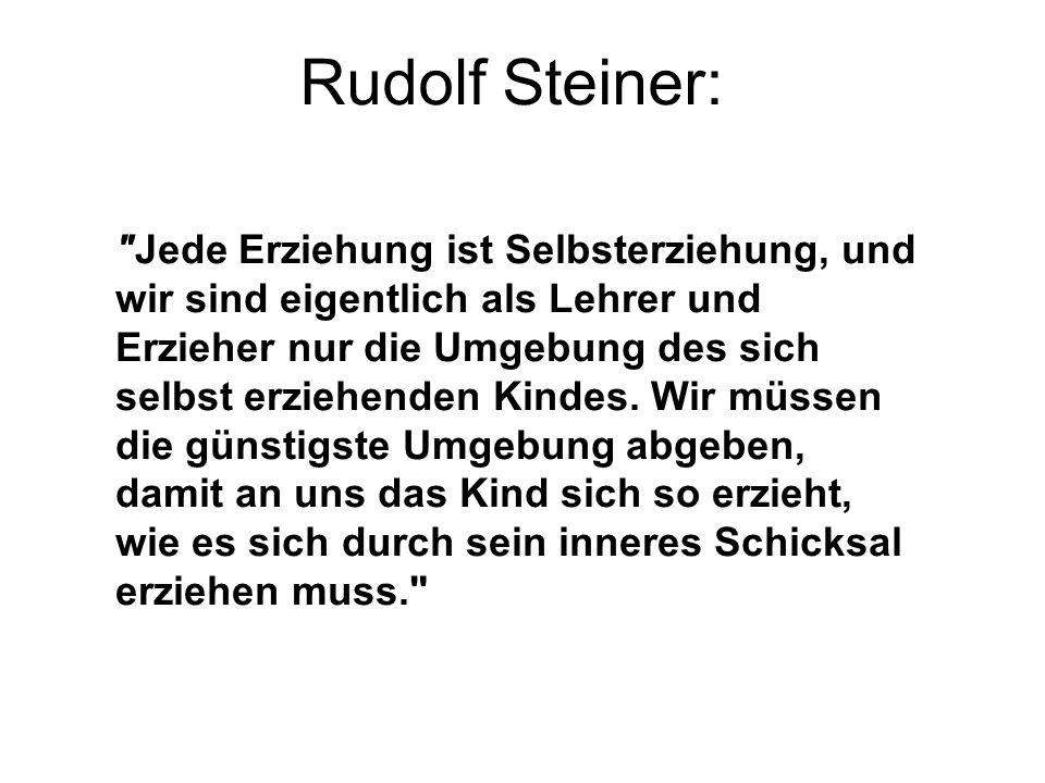 Rudolf Steiner: