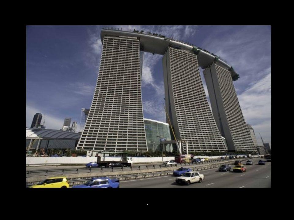 Das Hotel verfügt über 2500 Zimmer und Suiten.