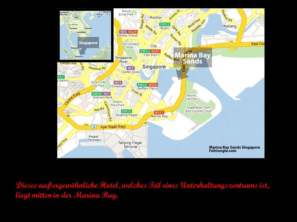 Hotel Marina Bay Sands Singapur a