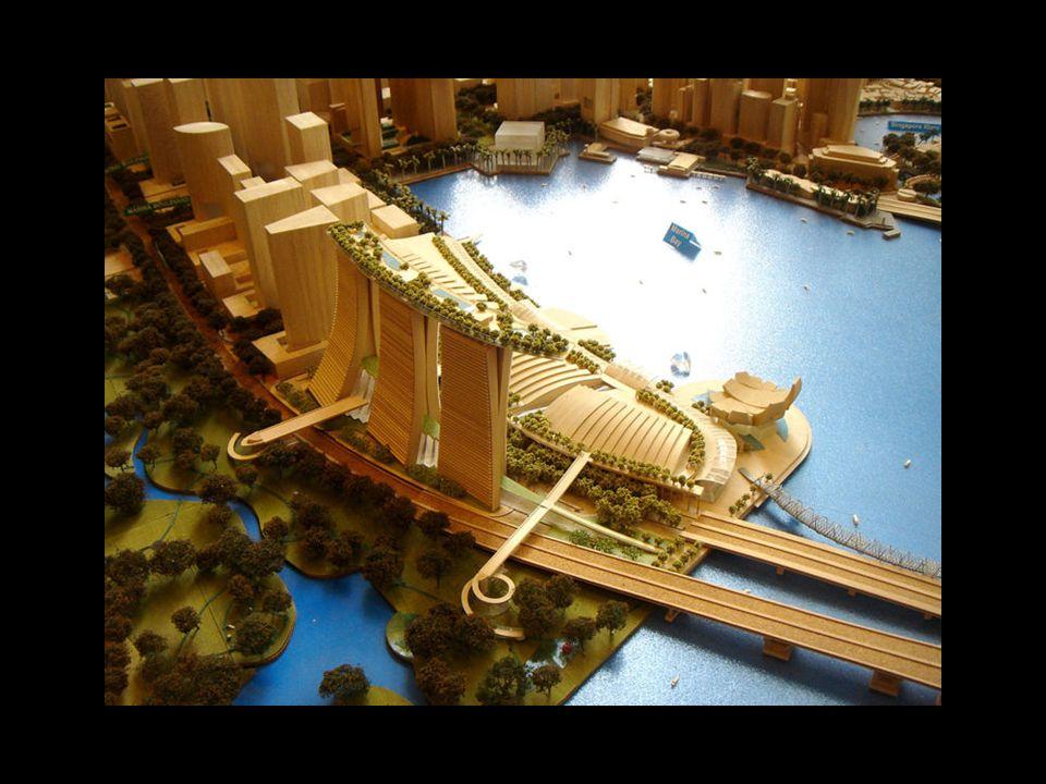 Dieses außergewöhnliche Hotel, welches Teil eines Unterhaltungszentrums ist, liegt mitten in der Marina Bay.