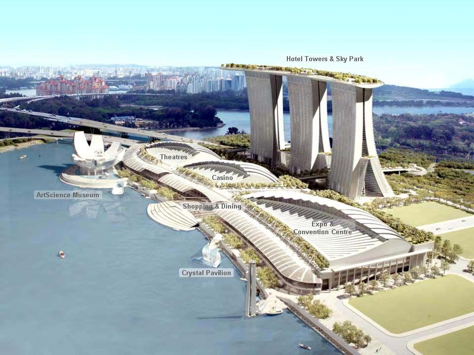 Der Bau dieses Komplexes kostete über 6 Milliarden Dollar.
