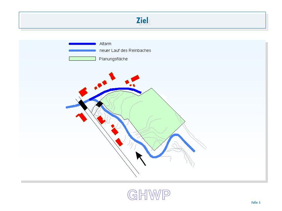 Folie 6 Hochwassersituation Hydrologische Daten des Reinbaches