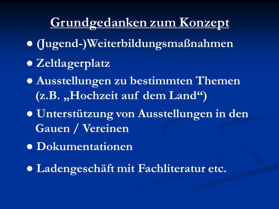 Das Haus der bayerischen Trachtenkultur und Trachtengeschichte wird weltweit einzigartig sein!
