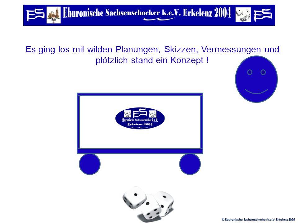 © Eburonische Sachsenschocker k.e.V. Erkelenz 2004 Beim Jahresanschocken 2009 kamen wir auf die Idee :