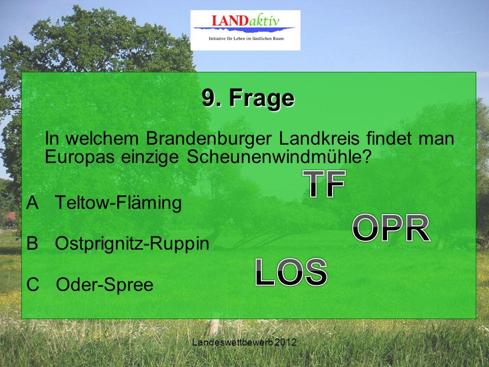 Landeswettbewerb 2012 9.