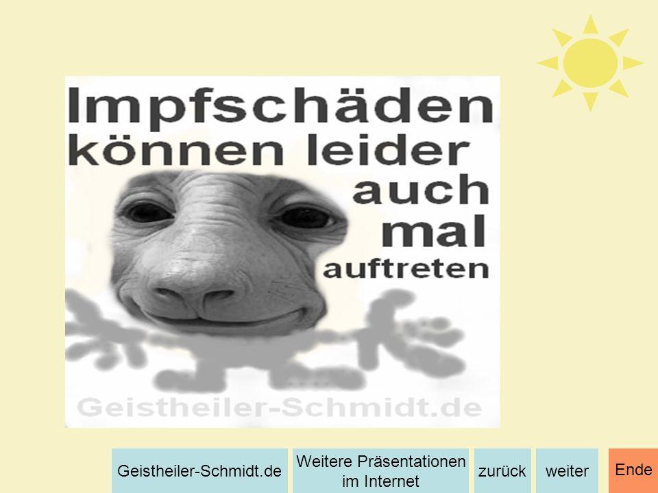 weiterzurück Weitere Präsentationen im Internet Geistheiler-Schmidt.de Ende
