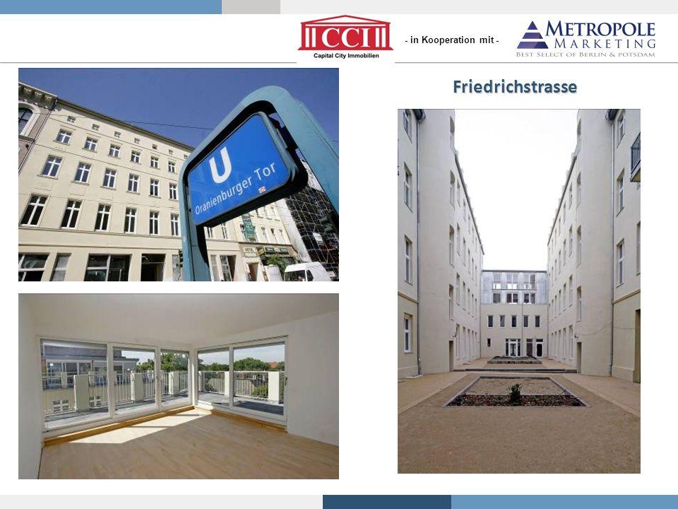 Referenzobjekte von S+P Friedrichstrasse - in Kooperation mit -