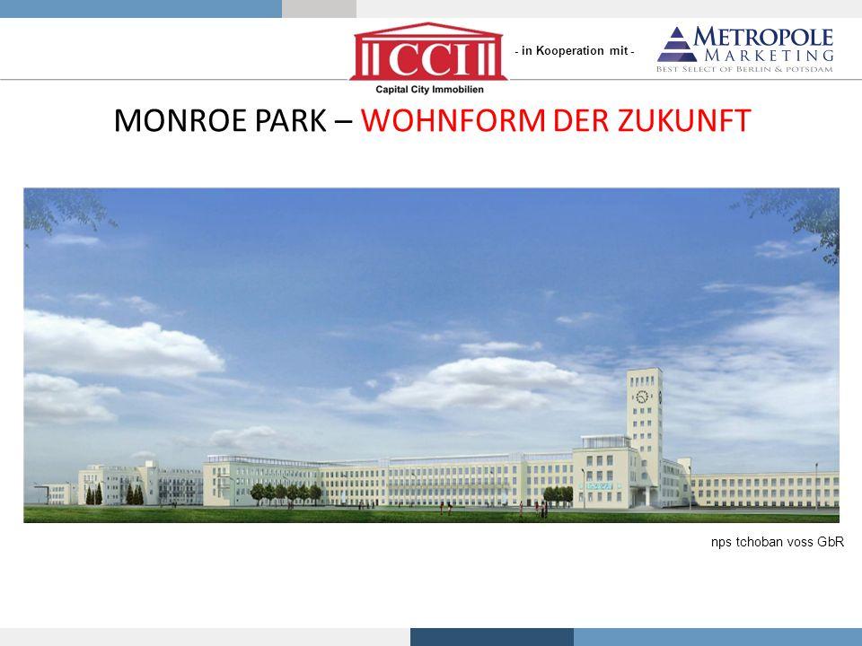 MONROE PARK – WOHNFORM DER ZUKUNFT nps tchoban voss GbR - in Kooperation mit -
