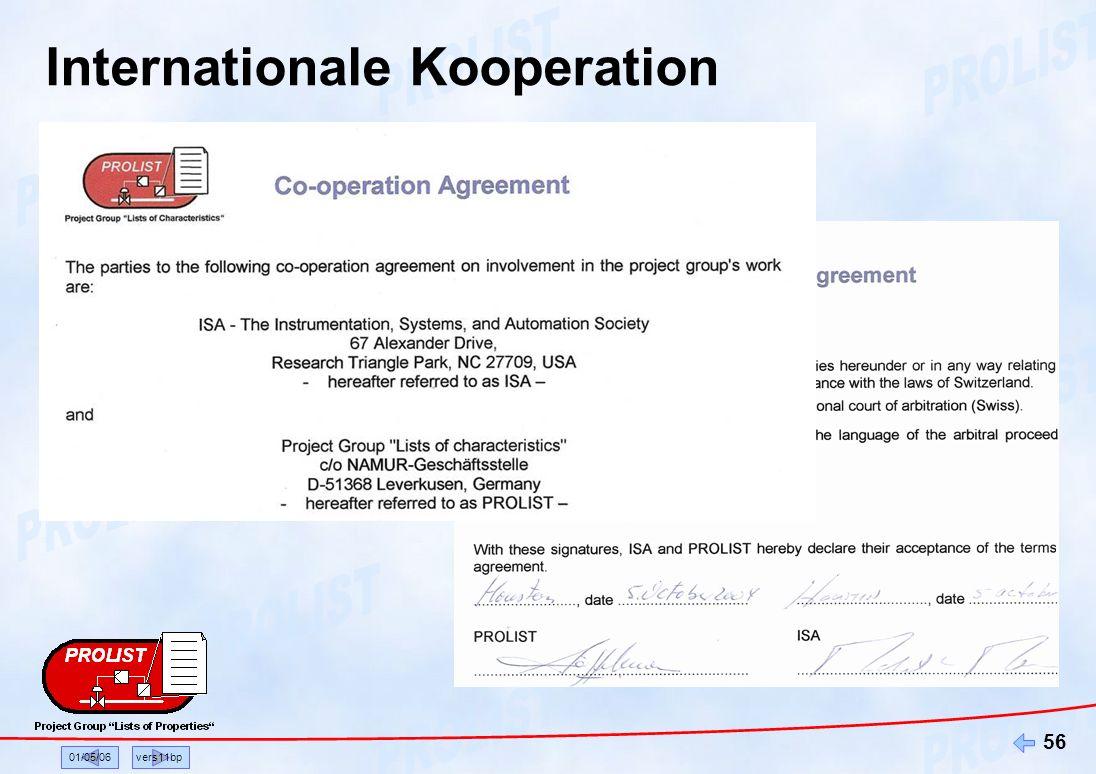 01/05/06vers11bp 56 Internationale Kooperation