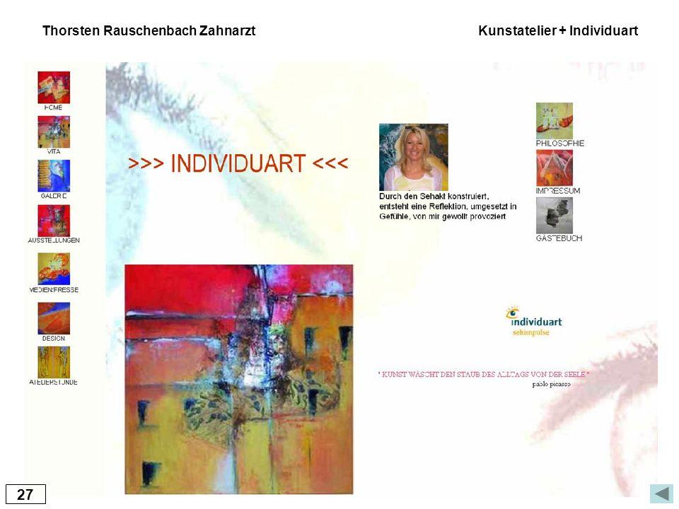 27 Thorsten Rauschenbach Zahnarzt Kunstatelier + Individuart