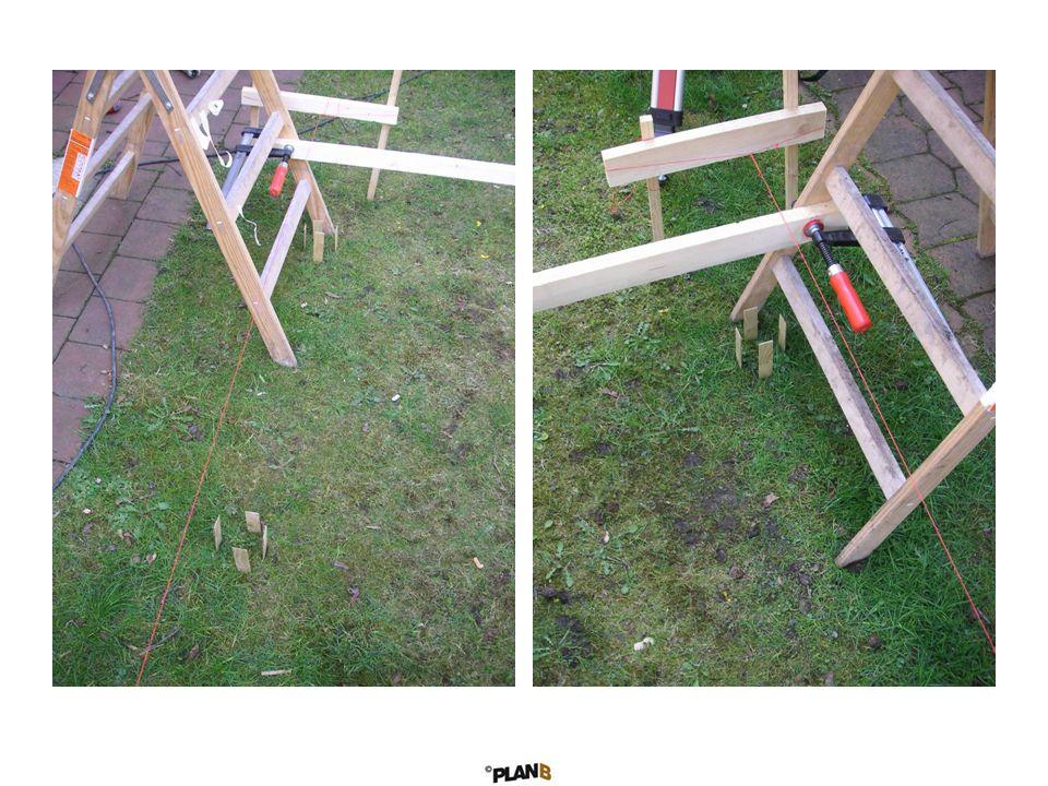 Die maschinell abgebundene Schuppenkonstruktion ist schnell montiert.
