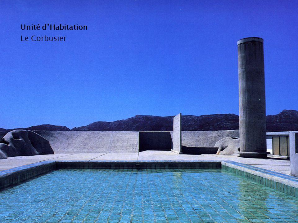 Unité dHabitation Le Corbusier
