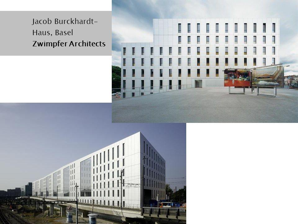 Jacob Burckhardt- Haus, Basel Zwimpfer Architects