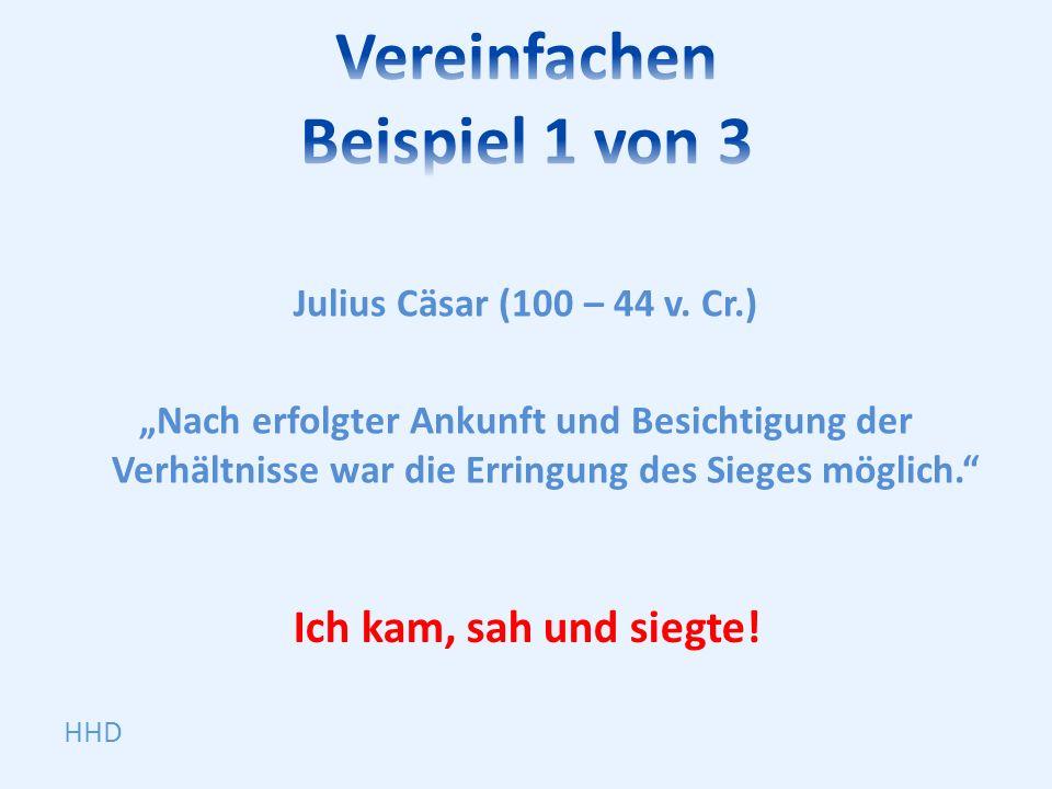 Julius Cäsar (100 – 44 v.