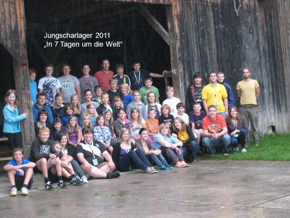 Jungscharlager 2011 In 7 Tagen um die Welt