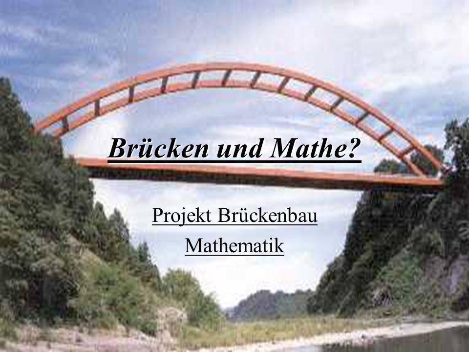 Verschiedene Brückenarten Balkenbrücke Hängebrücke Schrägkabelbrücke Bogenbrücke