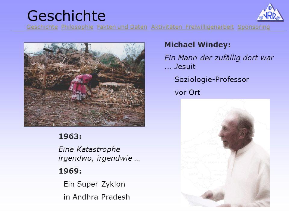 1963: Eine Katastrophe irgendwo, irgendwie … 1969: Ein Super Zyklon in Andhra Pradesh Michael Windey: Ein Mann der zufällig dort war...
