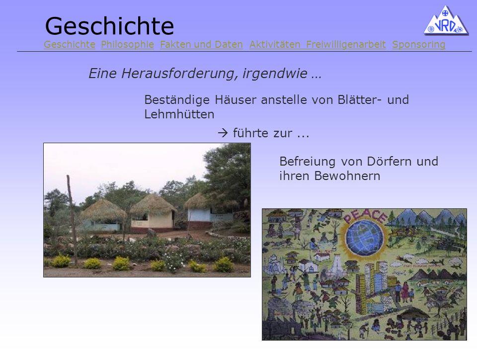 Eine Herausforderung, irgendwie … Beständige Häuser anstelle von Blätter- und Lehmhütten führte zur...