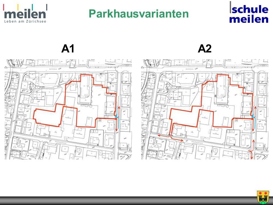 Parkhausvarianten A1A2