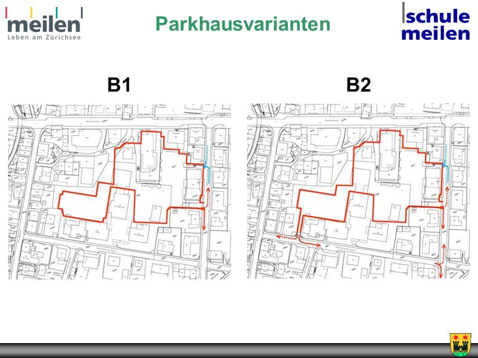 Parkhausvarianten B1B2