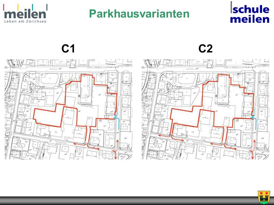 Parkhausvarianten C1C2
