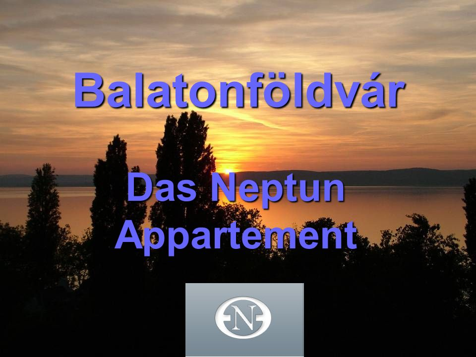 Balatonföldvár Das Neptun Appartement