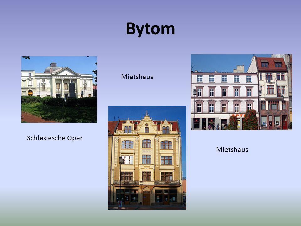 Bytom Schlesiesche Oper Mietshaus