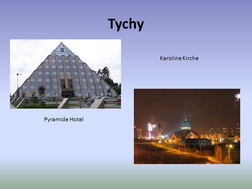Tychy Pyramide Hotel Karoline Kirche
