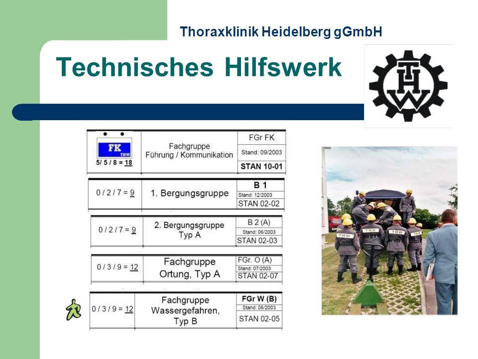 Technisches Hilfswerk Thoraxklinik Heidelberg gGmbH