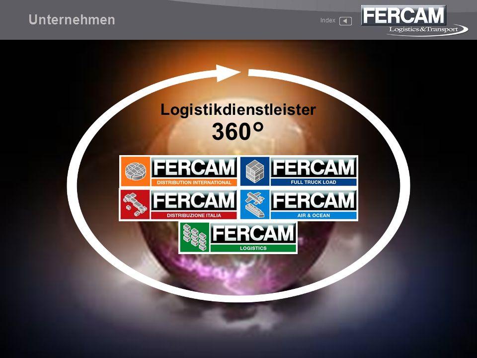 Unternehmen Index Logistikdienstleister 360°