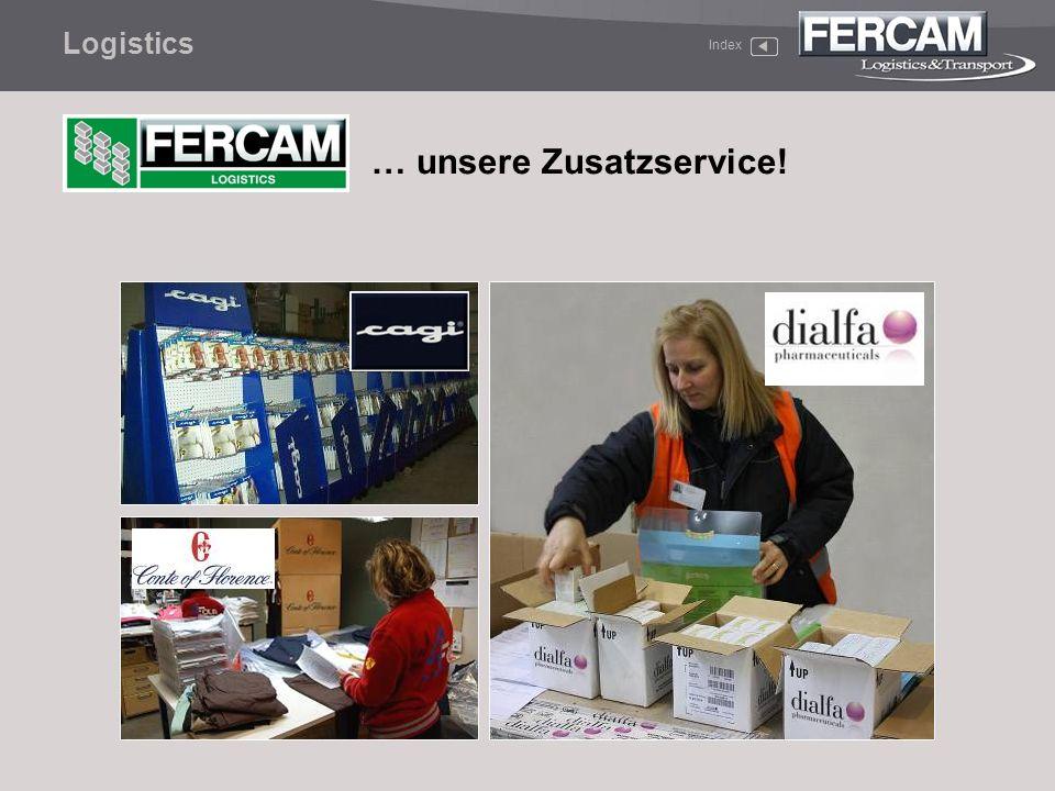 Logistics Index … unsere Zusatzservice!