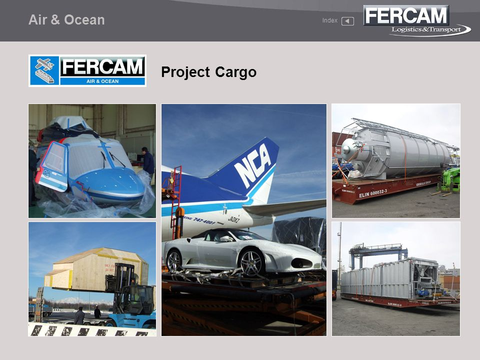 Air & Ocean Project Cargo Index