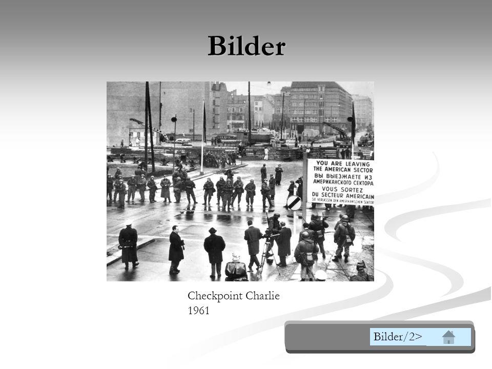Die Berliner Blockade (24.Juni 1948 - 12.